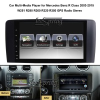 9 inch Car Multimedia Player for Mercedes Benz R Class 2003 2015 W251 R280 R300 R320 R350 with GPS Navigation MP5 Wifi (NO DVD)