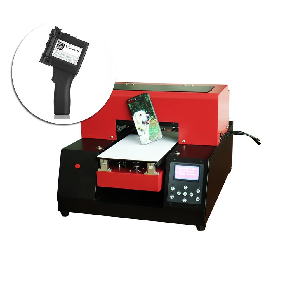 Automatic Small Size A4 UV Flatbed Printer A4 Uv Printer & Digital Mini Printer Portable Handheld Label Printer For Carton Metal