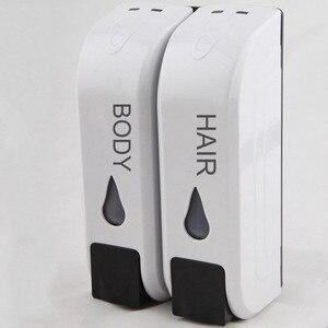 Image 5 - 트리플/더블 샤워 비누 디스펜서 벽 마운트 액체 비누 샴푸 디스펜서 dispensador de jabon distributeur de savon