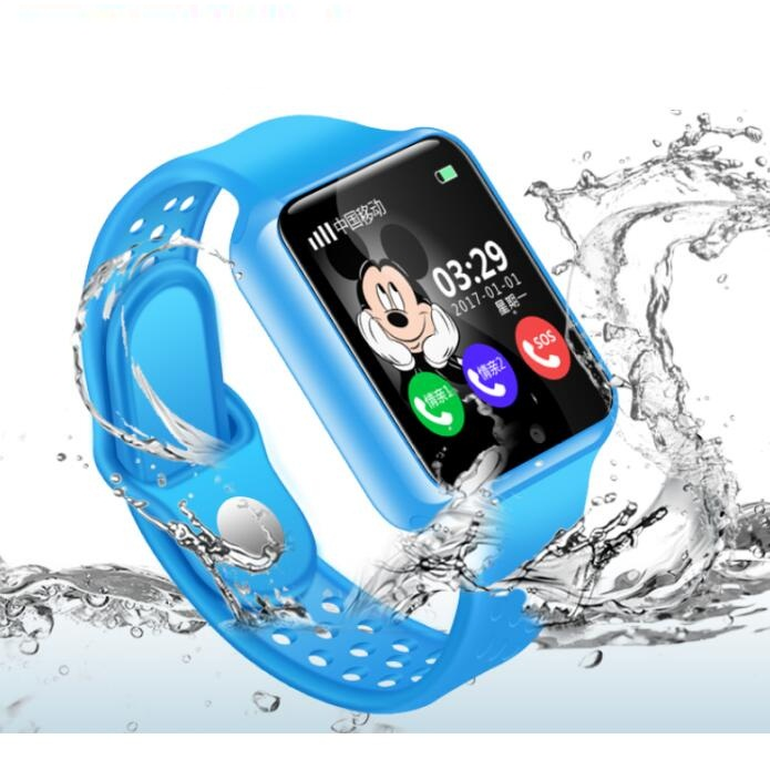 GPS Baby Smart Watch for Kids Boy Girl Apple Android Smartwatch Support 2G SIM TF Card