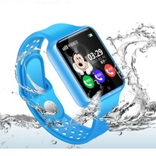 GPS Baby Smart Watch for Kids Boy Girl Apple Android Smartwa