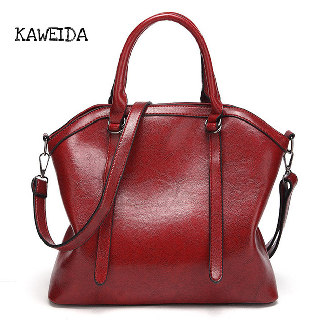 2018 Soft Leather luxury Handbags Women Bags Designer Stylish Shoulder Tote  bag Ladies Crossbody Hand bags 2b3f3aad2fb5f