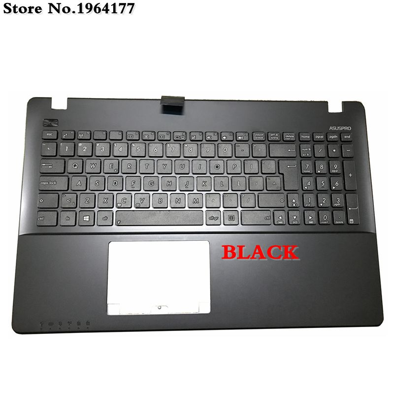 New laptop Palmrest Upper <font><b>cover</b></font> for <font><b>ASUS</b></font> X550C K550 A550C A550VB Y581C <font><b>X550</b></font> K550JK FX50J Y581CL X552W W50J <font><b>keyboard</b></font> bezel image