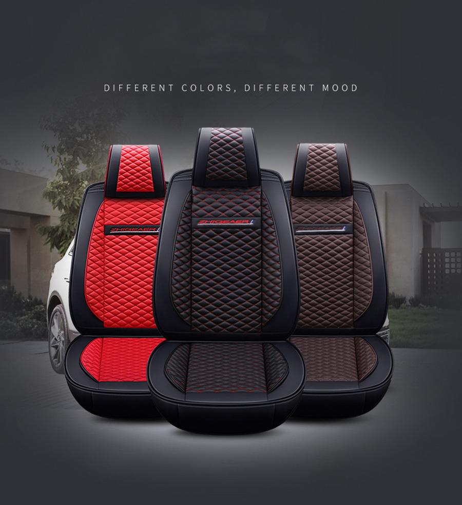 Lcrtds универсальный кожаный чехол для автомобильного сиденья
