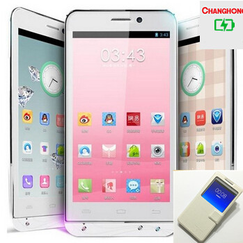 5 0 Android 4 2 2 Quad Core MTK6589T 1GB 8GB GPS AGPS GHONG V12 unlocked