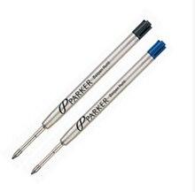 Шариковой черными чернилами паркер заправки ролика пополнения шариковая ручки синий ручка