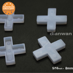 8mm.Tile Spacers for Spacing of Floor or Wall Tiles, 300-Piece