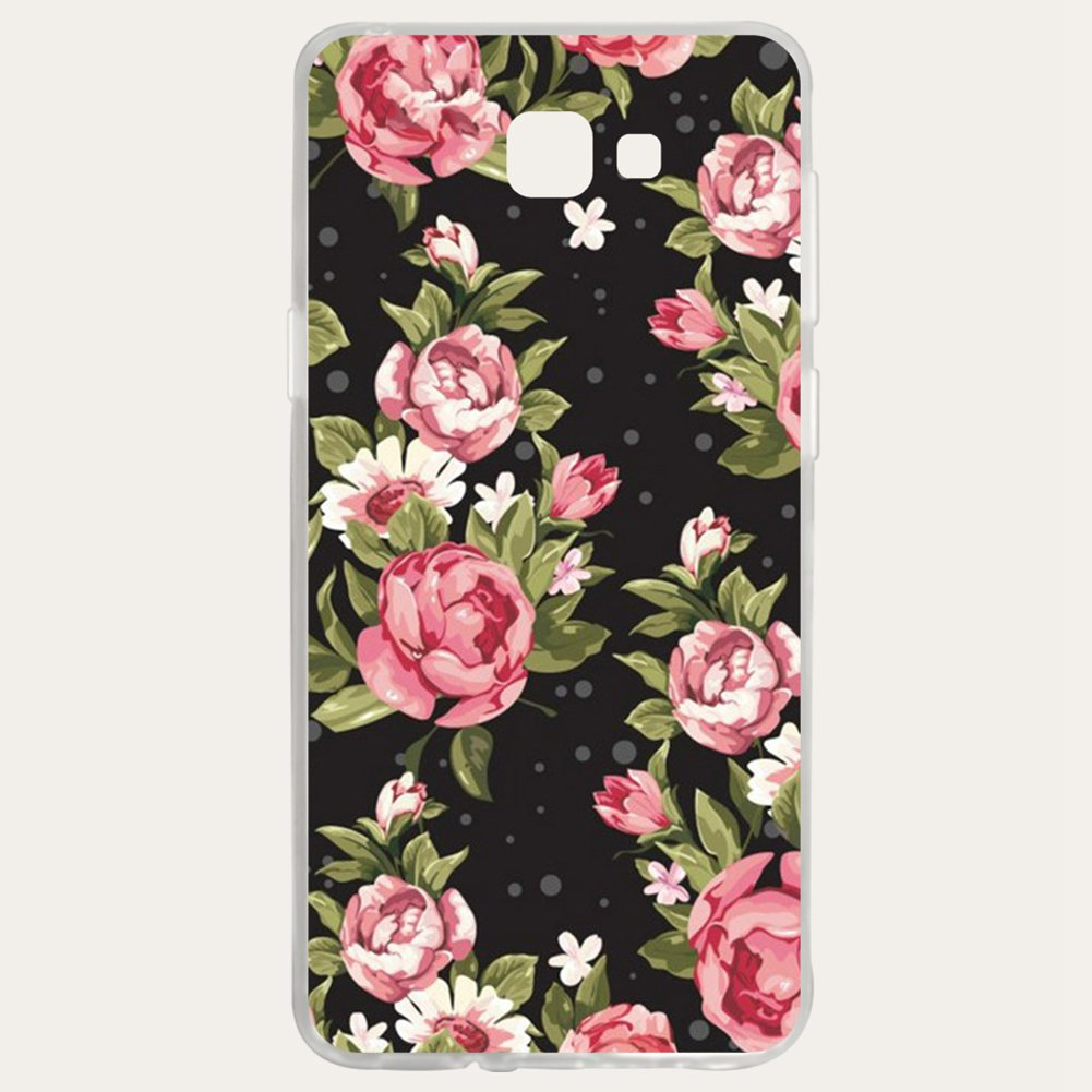 Mutouniao Rose Silicon Soft TPU Case Cover For Samsung Galaxy S3 S4 S5 S6 S7 S8 S9 Edge Plus I9300 I9500 E5 E7