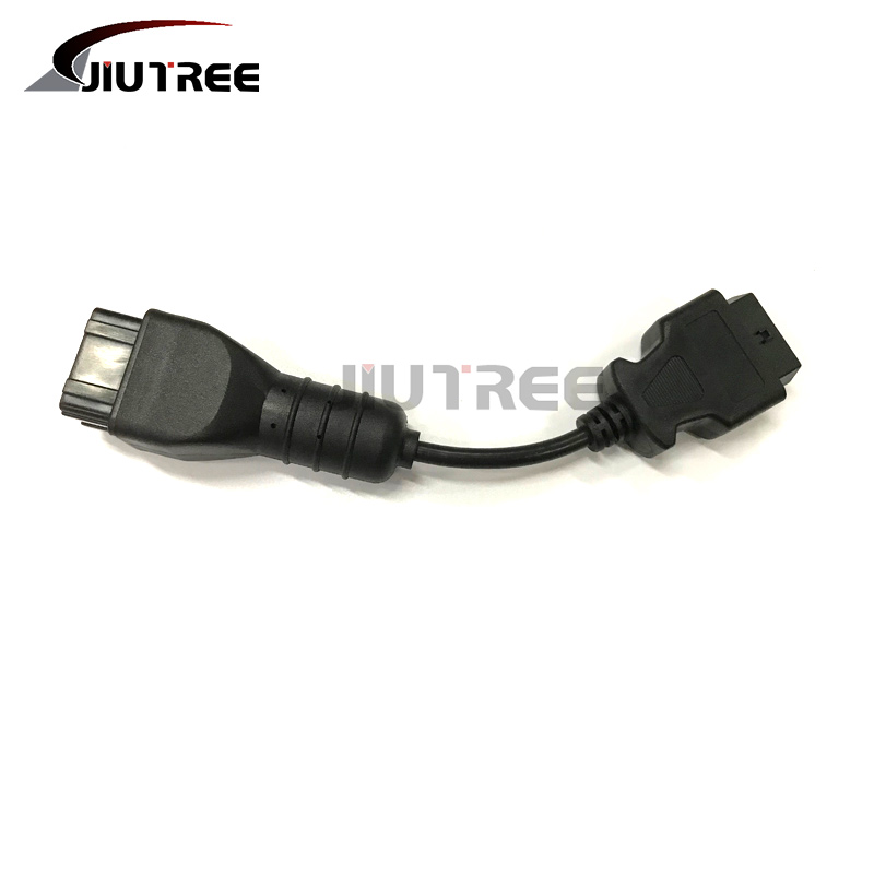 9 Pin to 16 Pin Truck OBD2 Diagnostic Scanner Cable Adapter for Cummins Diesel Engine Truck Truck Diagnostic Cable