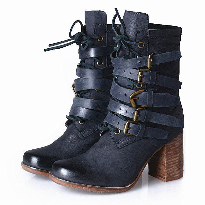 Vintage Motorcycle Boots for Sale Promotion-Shop for Promotional ...