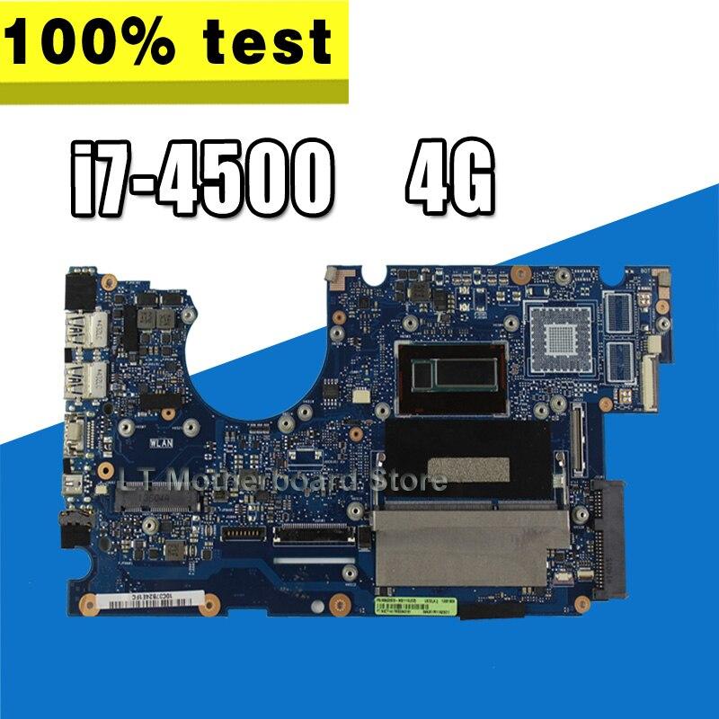 X750LB Mainboard For ASUS X750L A750L K750L R752L W// i7-4500U GT740M Motherboard