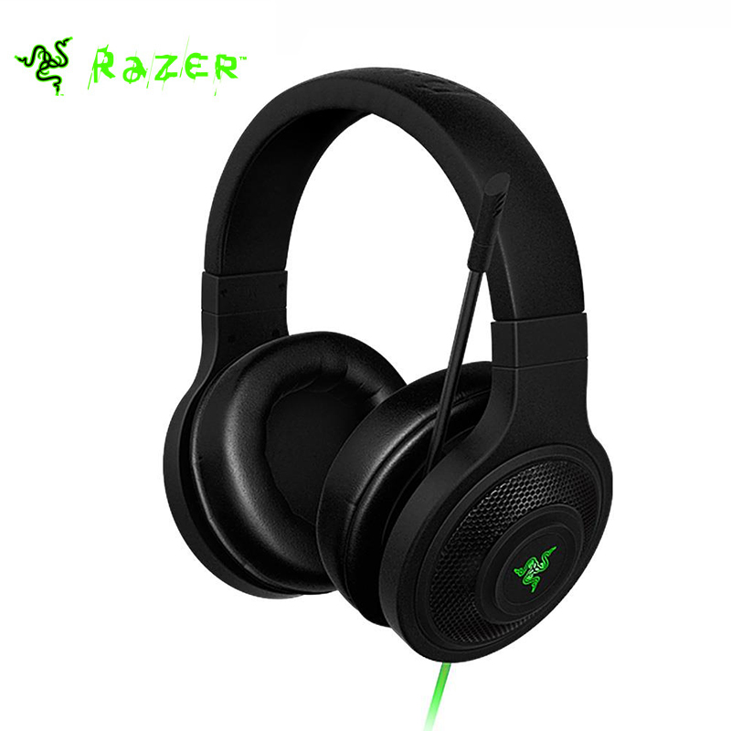 Razer Kraken Essential Noise Isolating Over-Ear Game Headset eSports gaming headset Sport Earphone with Mic for PC/Laptop/Phone
