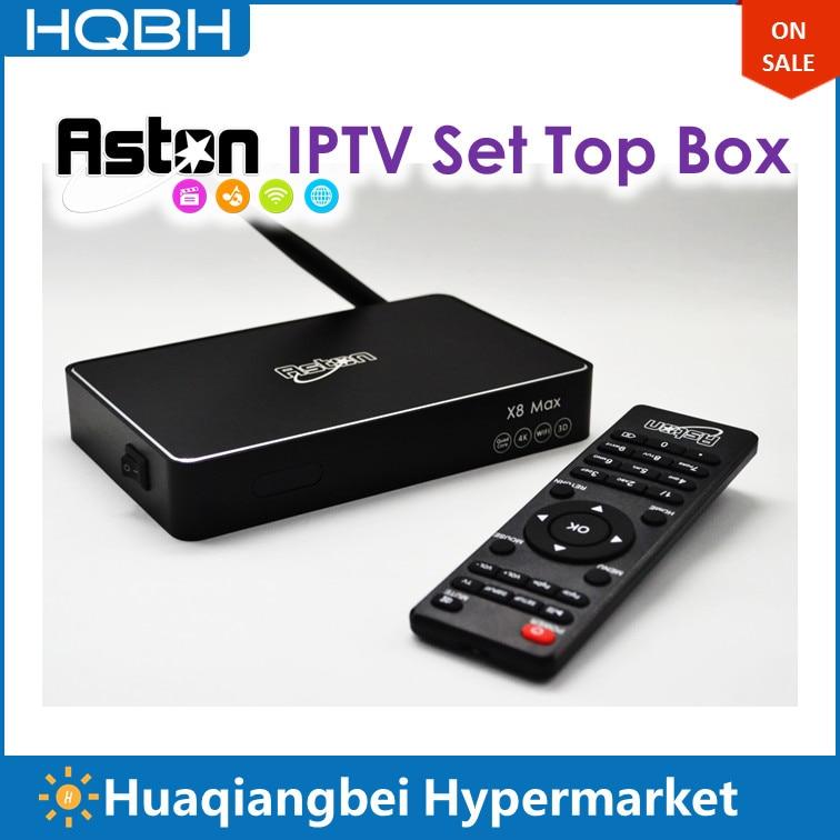 Aston X Android IPTV Box Hongkong Gold Pack Upgrade of X8 Max Watch