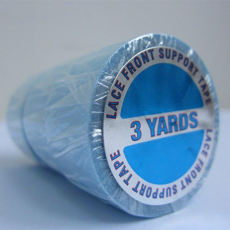 1,9cm (3 / 4inch) * 3yards Starkt Spets Fram Stöd Tape Blue Liner - Hårvård och styling - Foto 3