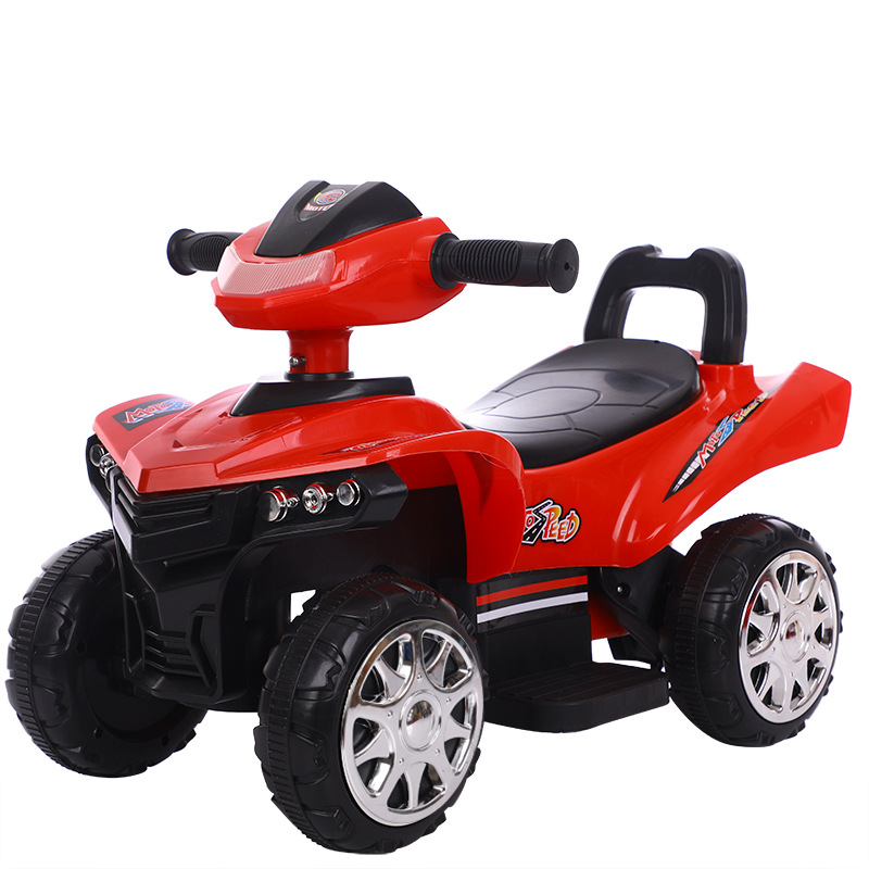 Enfants moto électrique 1-3 ans enfants monter sur jouet voiture quatre roues enfants voiture électrique moto batterie Walker voiture