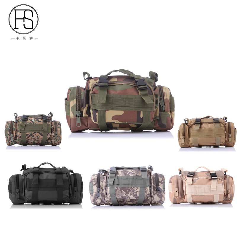 Multifunction Bag Fishing Bag Tackle Bag Waterproof Fishing <font><b>Lure</b></font> Bag Shoulder Waist Pack Fish Pouch 35*20*15cm