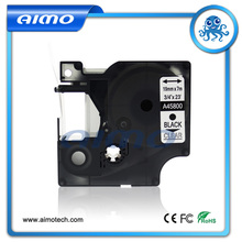 Haute Qualité 19 MM Compatible Pour DYMO D1 45800 Pour DYMO Imprimante Noir sur Clair