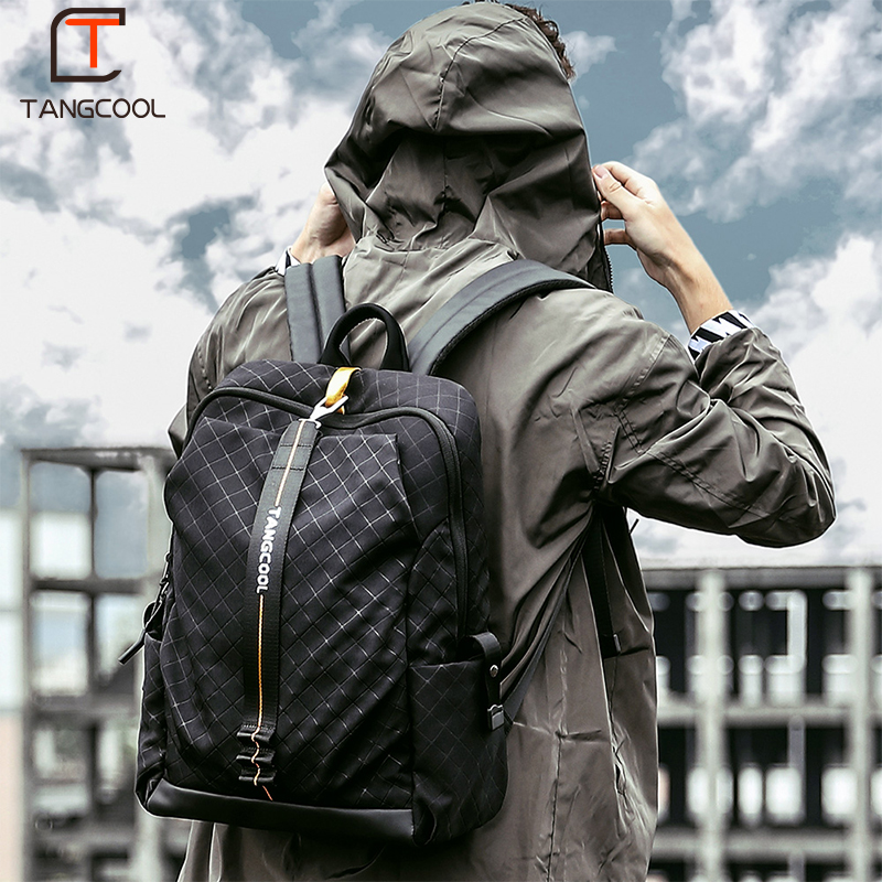 Tangcool 2019 New Fishion Men s Backpack Korean Travel Bag Fashion Trend Bag Male College Student