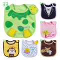 Cotton Baby Bibs Burp Cloths For Newborn Bandana For Kids Baberos Bebes Girls Boys Bib Baby Clothing Feeding Saliva Towels Bibs