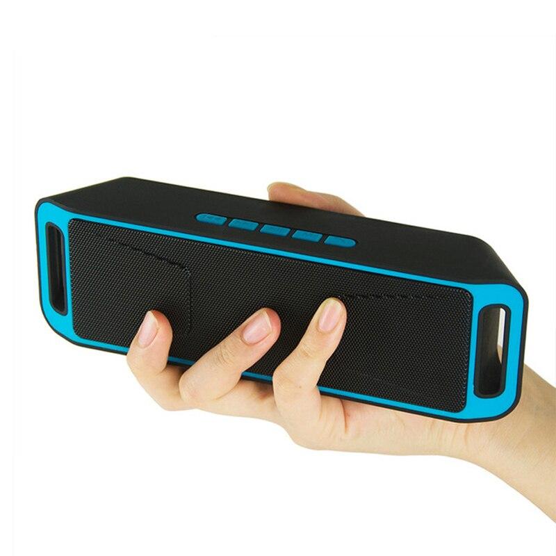 SC208 Altavoz Bluetooth Lautsprecher HIFI Caixa De Som TF USB FM Radio Bluetooth 4,0 Music Receiver MP3 Sound Box