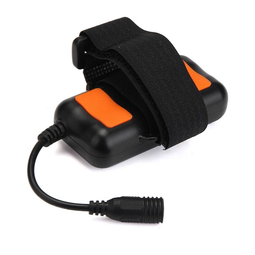 8.4V Rechargeable 4800mAh 2X18650 Battery Pack For Bicycle Light Headlamp Flashlight Mountain Bike Headlight Safety Alarm PJ5