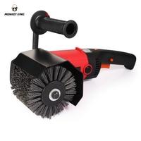 DuPont burnishing polishing wheel abrasive wheel Abrasives Wire DuPont Drum Wheel Brush for Wooden Furniture Burnishing Polis