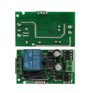 Image 4 - QIACHIP AC 250 V 110 V 220 V 1CH 433 Mhz Universelle Télécommande Sans Fil Commutateur Relais Module Récepteur Pour porte de Garage Porte Moteur