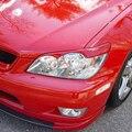 Неокрашенный Стеклопластик ТОМ стиль Фара Век Бровей Для Lexus Altezza IS200 1999-2004