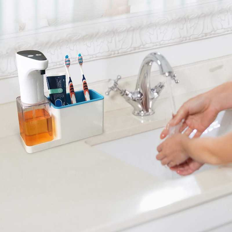 Premium 15 Oz Kitchen Soap Dispenser With Sponge Holder Automatic And  Touchless Dispense Technology Perfect Packaging For Chri