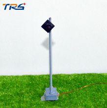 7.5 cm modelo de construção de tráfego luzes luzes de DIY/modelo de mesa de areia material de tráfego sinal de luz da lâmpada