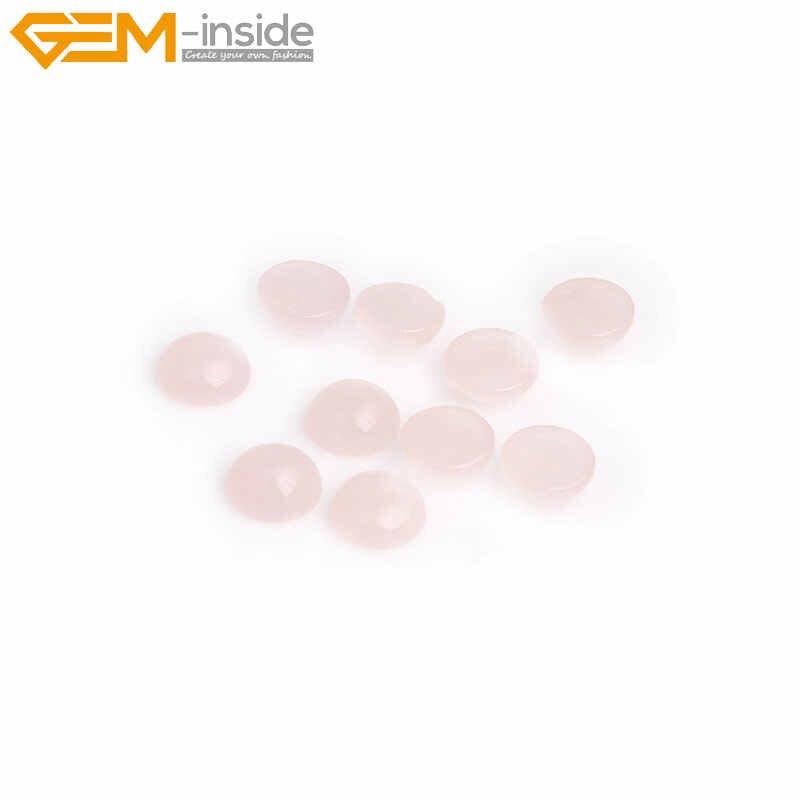 Polvere naturale wafer CAB cabochon Perline Per Gioielli Anello Del Pendente Fare FAI DA TE regalo Gemma-all'interno (Cinque pezzi)