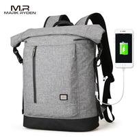 Mark Ryden 2018 New USB Recharging Backpack Fit For 15 6 Inches Laptop Backpack High Capacity