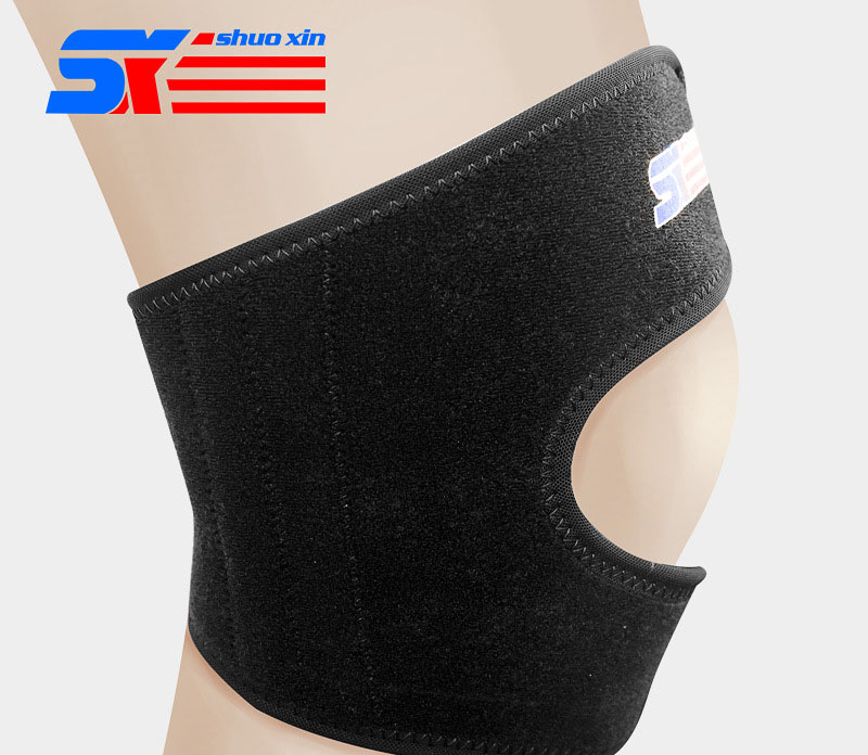 1 Pcs Running Basketball Badminton Breathe Freely Adjustable 4 Spring Knee Guards in Braces Supports from Beauty Health