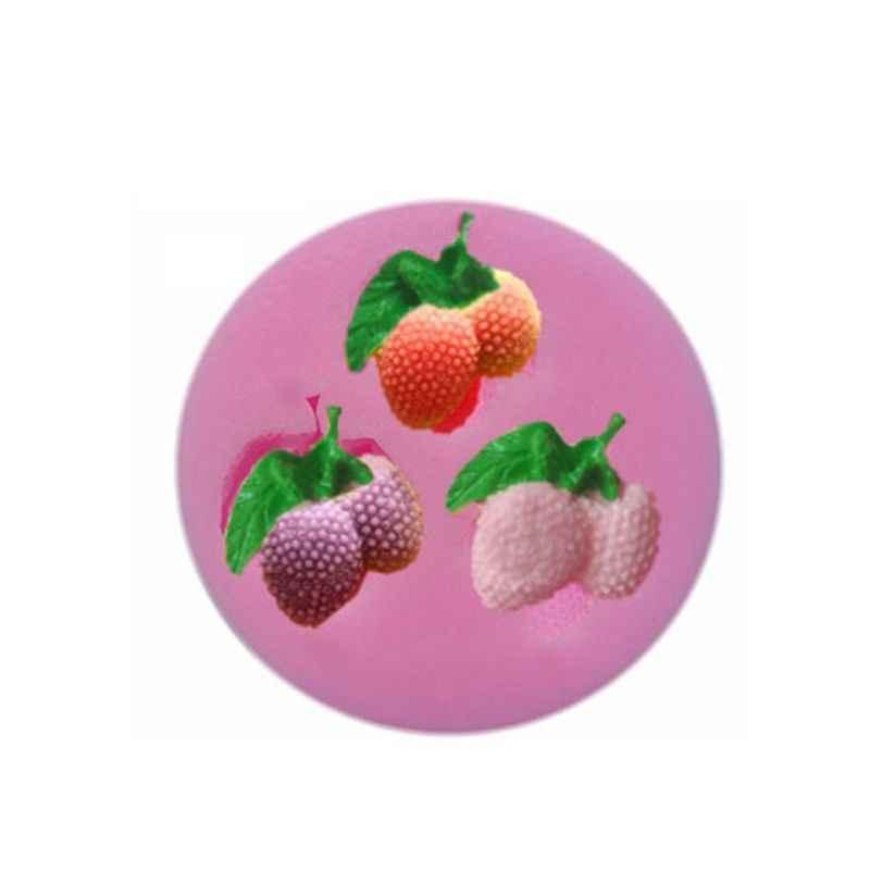 Fruta Morango Abacaxi Pêssego Uva Silicone Molde de Resina Ferramentas Fazer Jóias