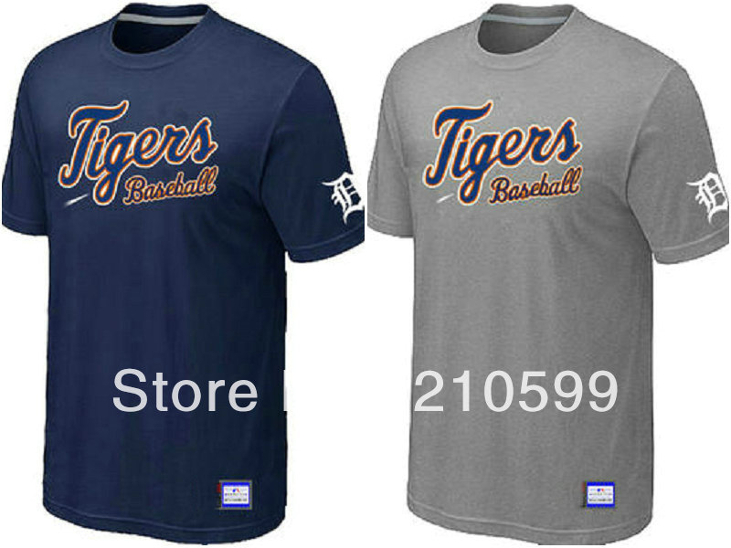 Detroit tigers baseball t shirt sport brand t shirt cheap for Cheap branded t shirts online