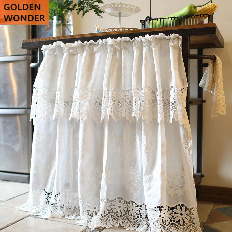 Aliexpress.com : Buy Beautiful Lace Princess Curtain Half
