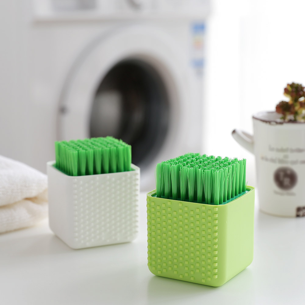 Silicone Clothes Cleaner Washing Dish Bowl Brushes Cleaning Brush Kitchen Tool J2Y