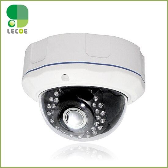 ФОТО CCTV 1920x1080P  IP Dome weatherproof Camera 720p HD 2.8-12mm varifocal zoom lens Onvif network outdoor IR  security camera