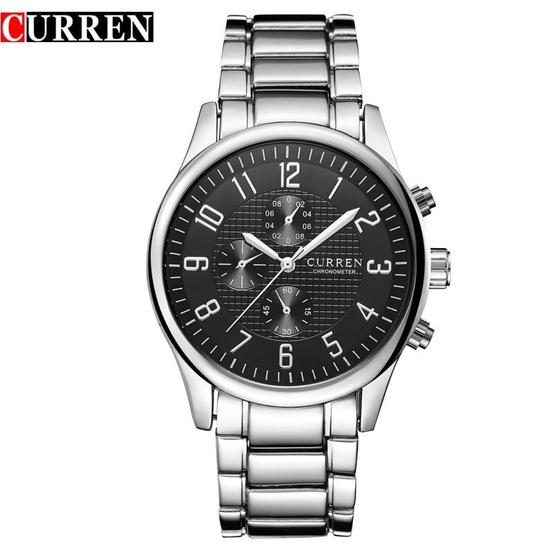 Reloj Hombre Curren Watches Men Brand Luxury Quartz Watch Men s Sport Watches Waterproof Man Dress