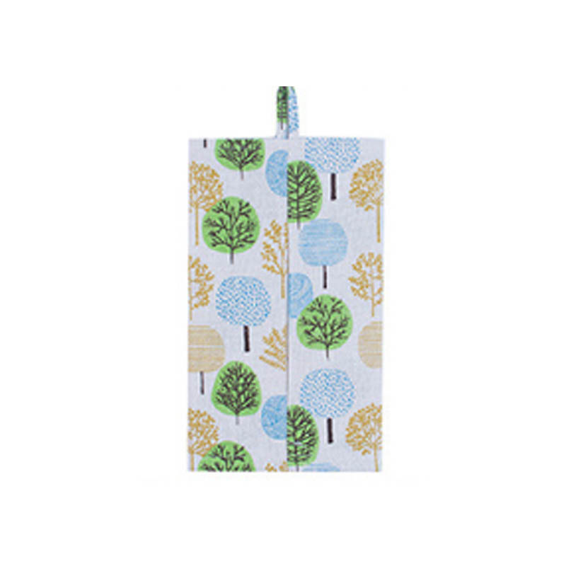 Freshness Style Cotton Linen Tissue Box Fabrics Car Tools Pumping Paper Boxes Paper Hanging Bag Multifunctional