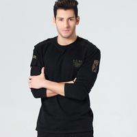 Men S Thickening Long Sleeve T Shirt Military Longsleeve T Shirt For Men Mens Army Tshirt