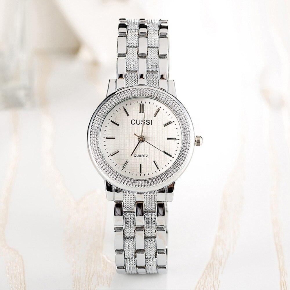 CUSSI Dames Horloge Luxe Merk Fashion Vintage Quartz Dames Goud - Dameshorloges - Foto 3