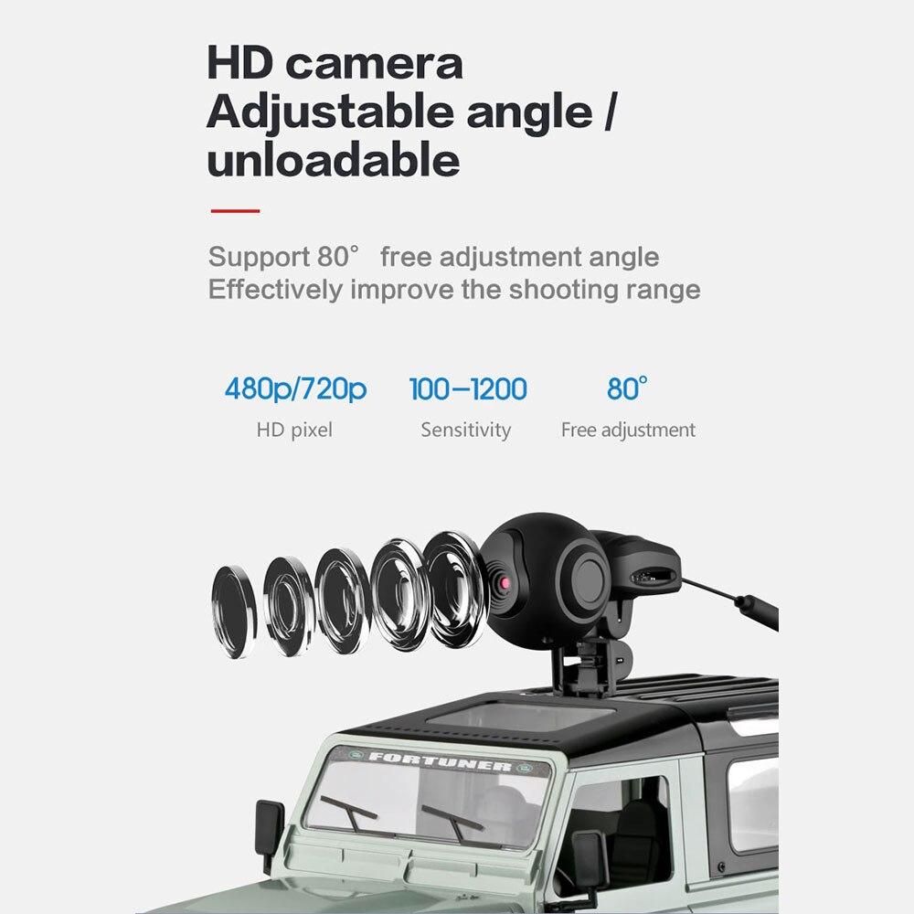 FPV 480P HD видео RC гоночная камера RC автомобиль дрейф видео в режиме реального времени Премиум 2,4 GHz внедорожный умный профессиональный видео RC автомобиль