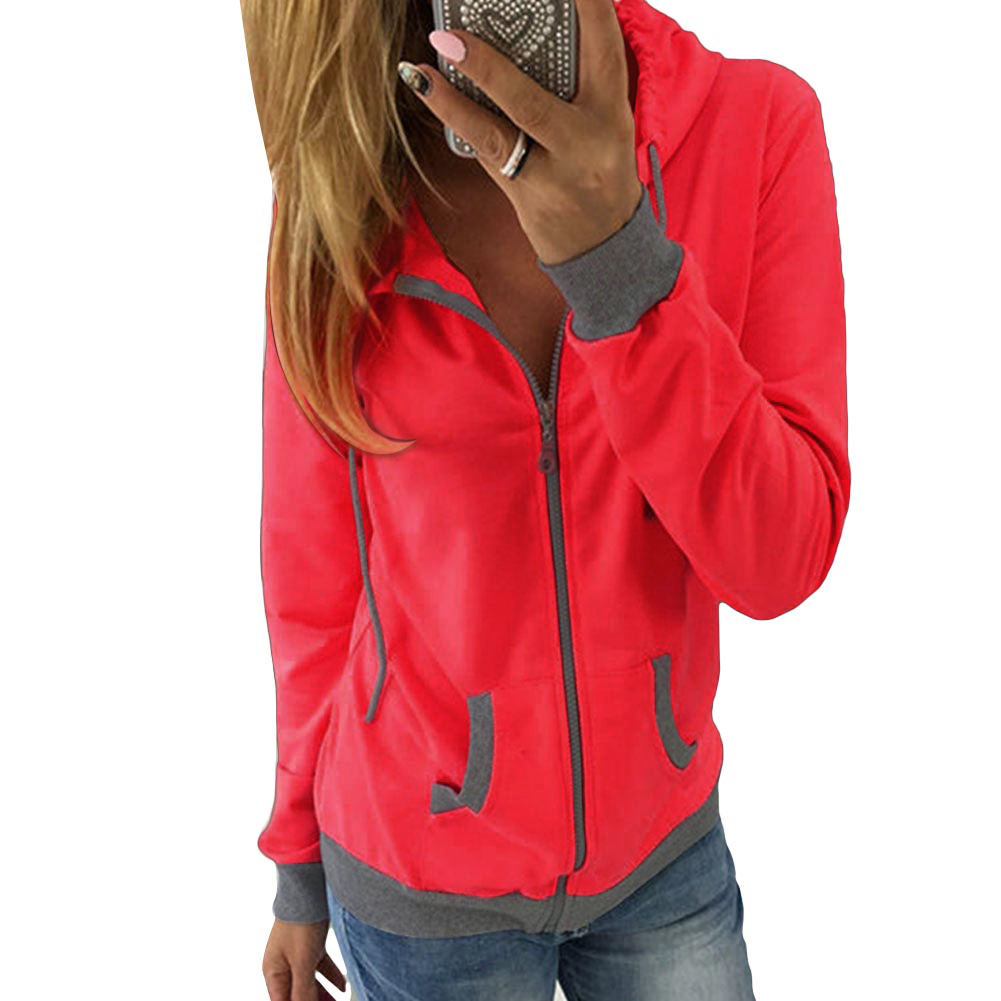 Women's christmas Winter Hoodie Sweatshirt Jumper Hooded ...