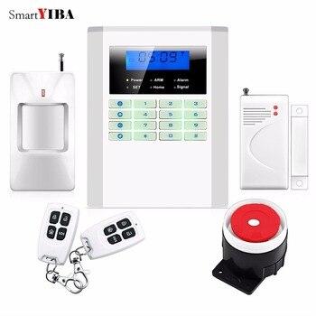 Smartyiba Беспроводной Главная охранной Беспроводной GSM сигнализация Системы Охранной Сигнализации Best безопасности Системы PSTN alarma