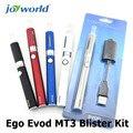 Жидкостью vape электронные сигареты, сигары для продажи эго Evod MT3 Блистер Комплект эго электронной сигареты испаритель электронная сигарета evod батареи mt3 atomzier (ММ)