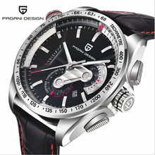 Top Luxury Brand PAGANI DESIGN Waterproof Quartz Watches Military Watches Sport Leather Mens Watch Relogios Masculino