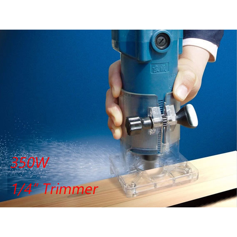 Trimmer 6.35mm Electric Wood Trimmer 350w Electric Trimmer 1/4 inch Wood Router цена