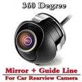 HD Видео Автопарк Монитор 360 градусов панорамный CCD Автомобильная Камера Заднего вида С 4.3 дюймов Автомобиля Обратный Сложить Монитор