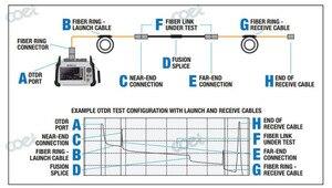 Image 5 - G652D 1000 m pour 1310/1550nm SM Fiber OTDR lancement câble boîte Fiber anneaux utilisés avec Fiber optique OTDR